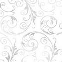 12207 Sassy Swirls Silver