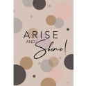 """A5 """"Arise and Shine"""" Paperback Notebook"""
