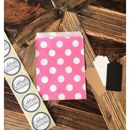 Large Dots Pink